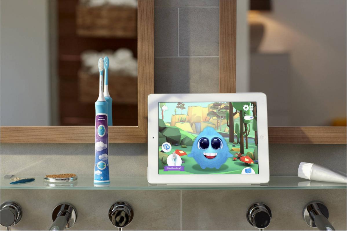 Sonicare For Kids Sparkly szczoteczka soniczna dla dzieci