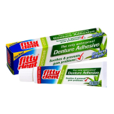 FITTYDENT Sensitive Denture Cream 40g AloeVera - klej do protez ekstra mocny z Aloesem i Mirrą