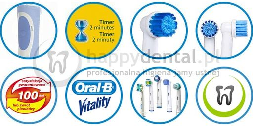 BRAUN Oral-B Vitality Sensitive