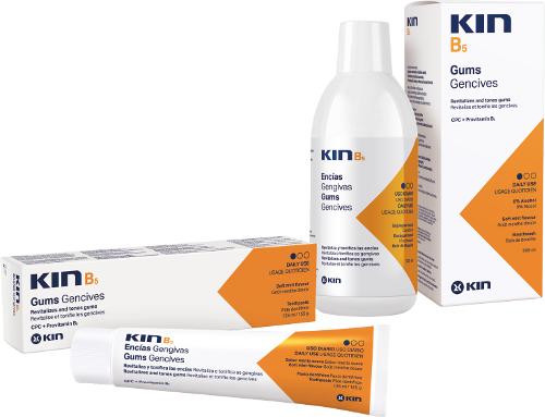 KIN B5 pielęgnacja delikatnych dziąseł