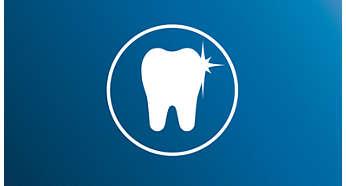 bielsze zębów dzięki szczoteczkom Sonicare