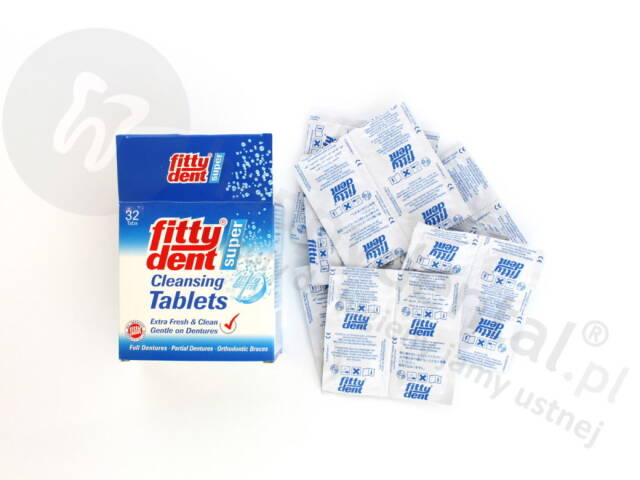 FITTYDENT Denture Tablets