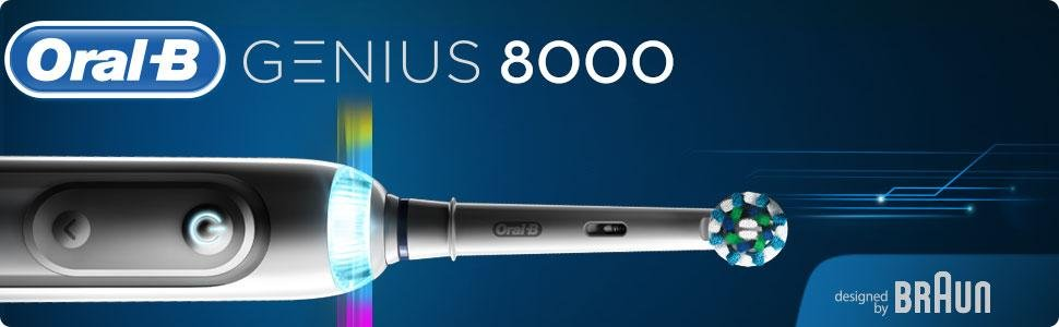 BRAUN Oral-B GENIUS 8000 WHITE
