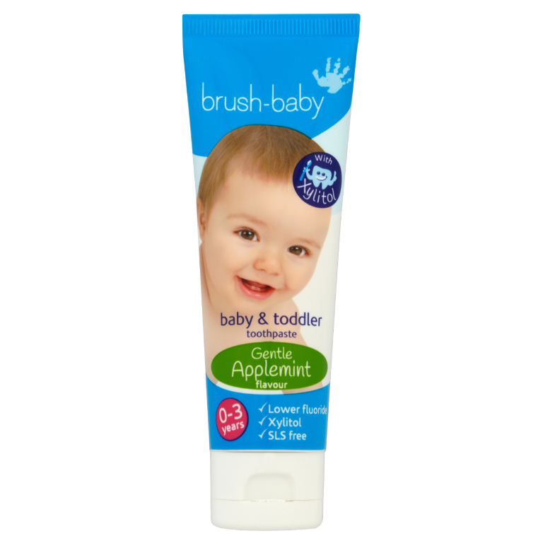 brush-baby teething