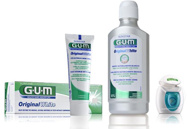 gum oryginal white płyn